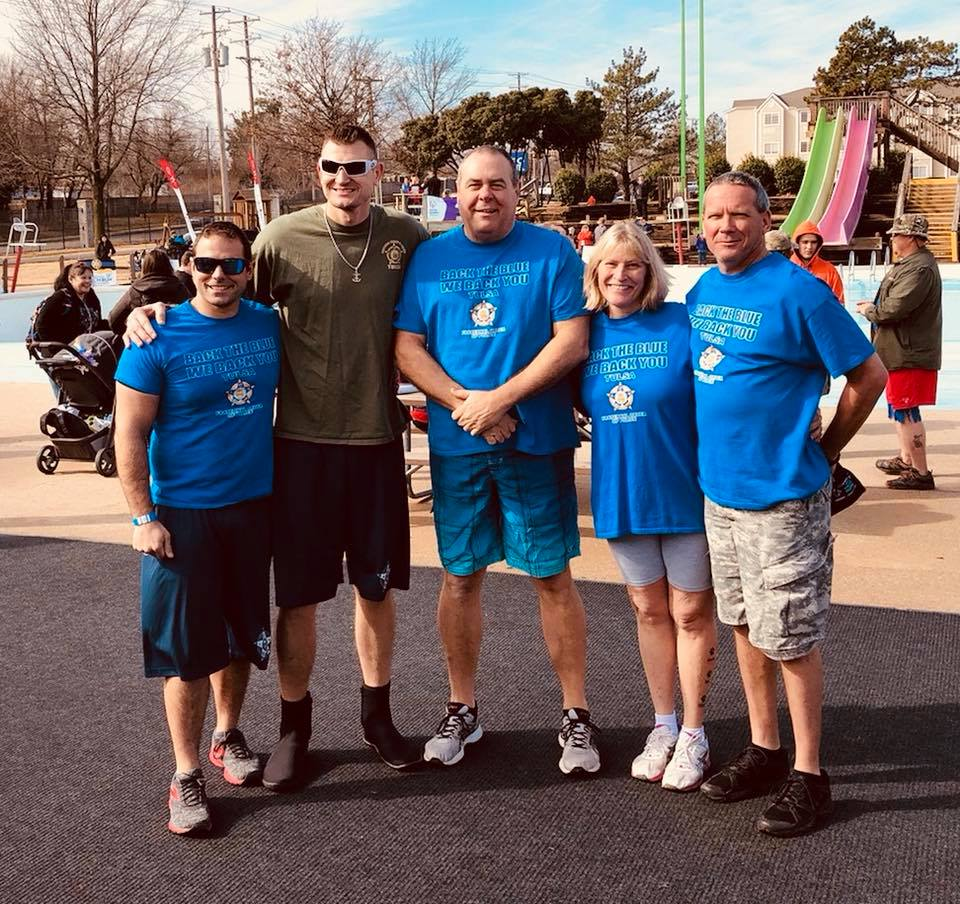 2018 Polar Plunge FOP Team